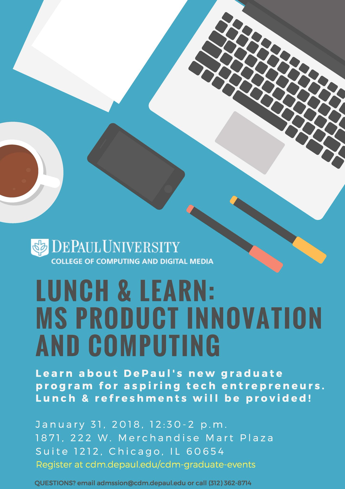 MS in Product Innovation and Computing – DePaul Makes